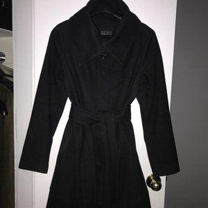 NINE WEST black wool coat